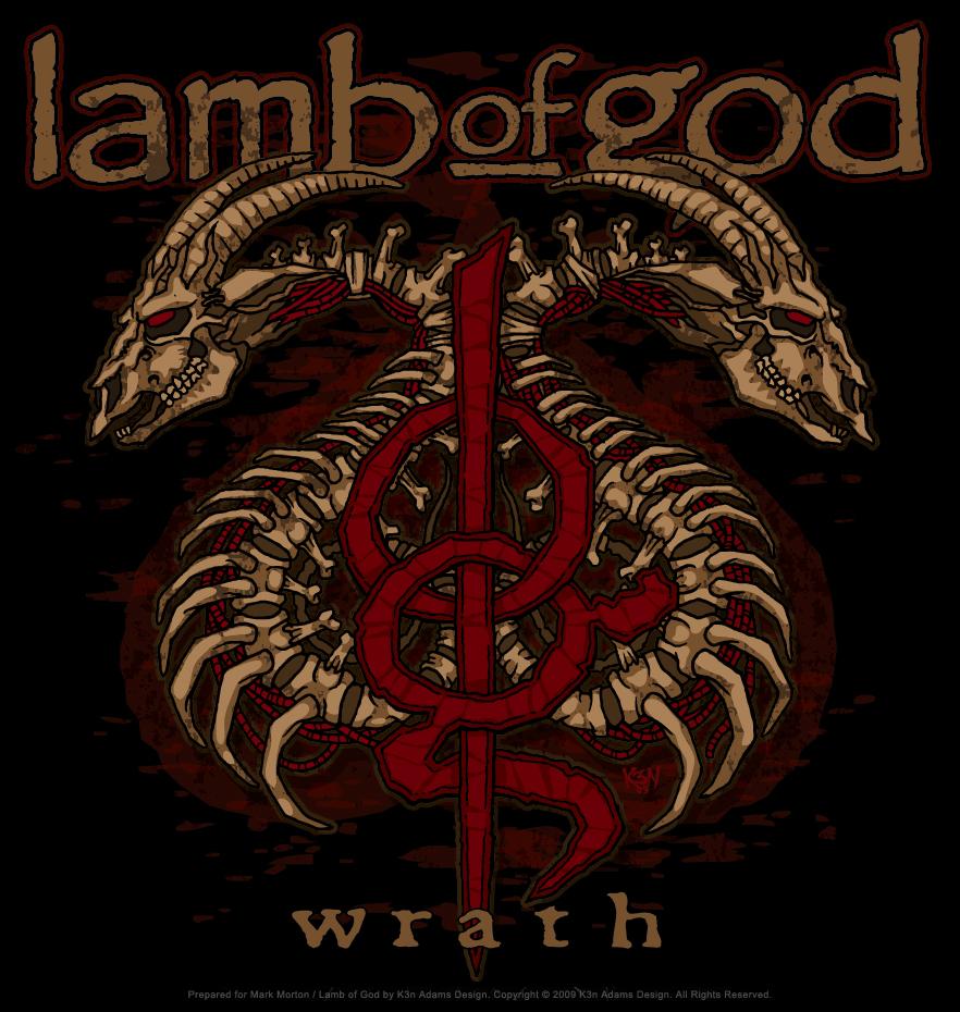 Tshirt Design Lamb Of God Wrath Tour