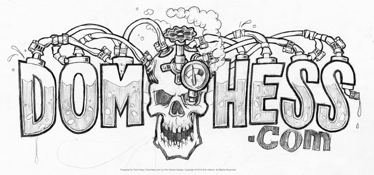 dom logo design 3