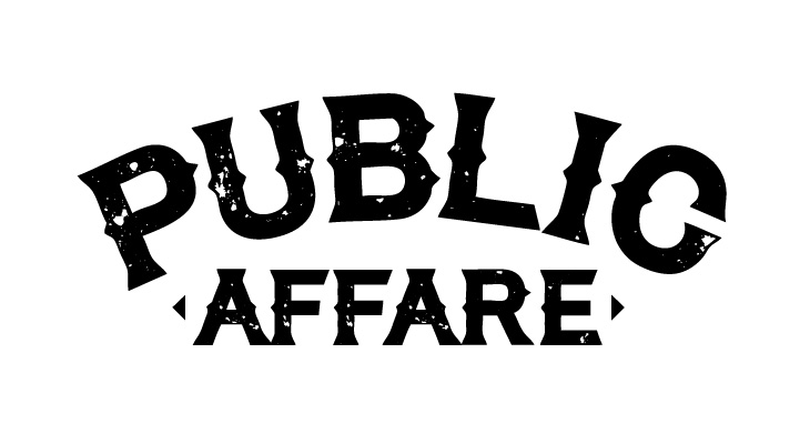 publicaffare logotype black on white