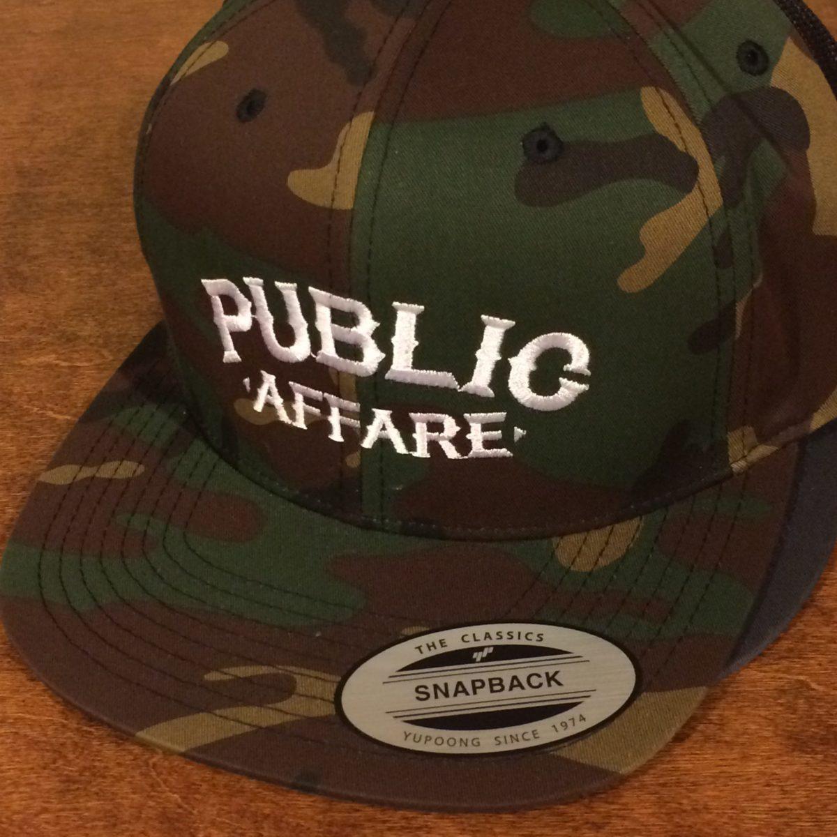 publicaffare logotype hat